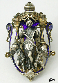 FROMENT-MEURICE  Harmony brooch