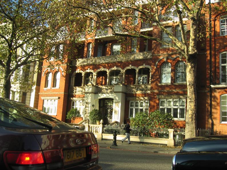 ロンドンの高級住宅街 フォト日記